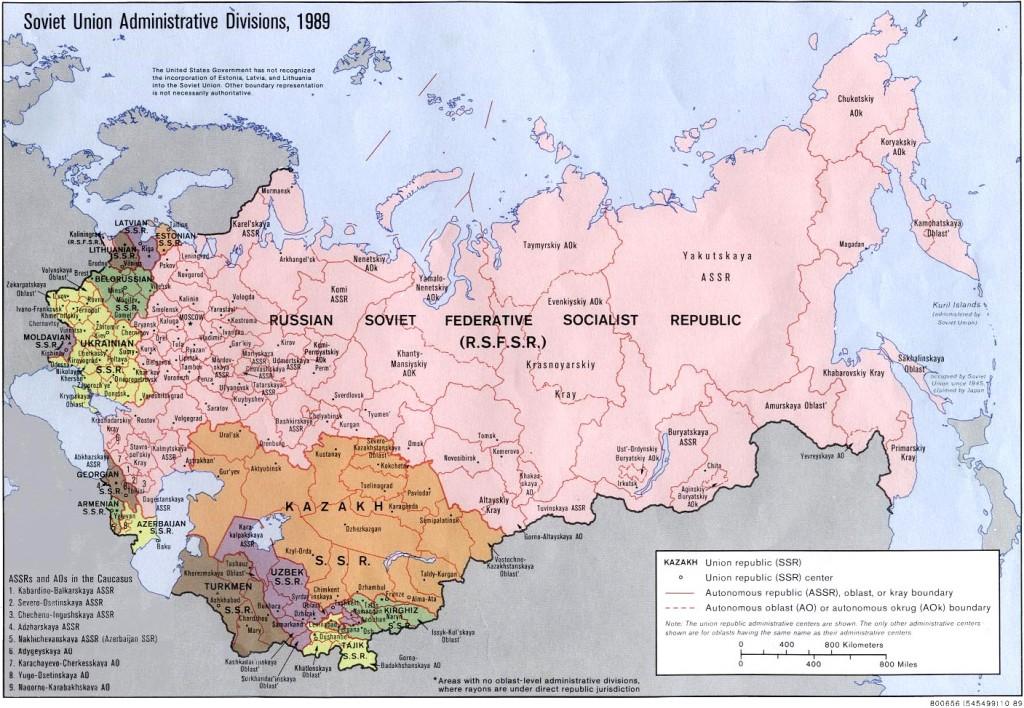 URSS, 1989